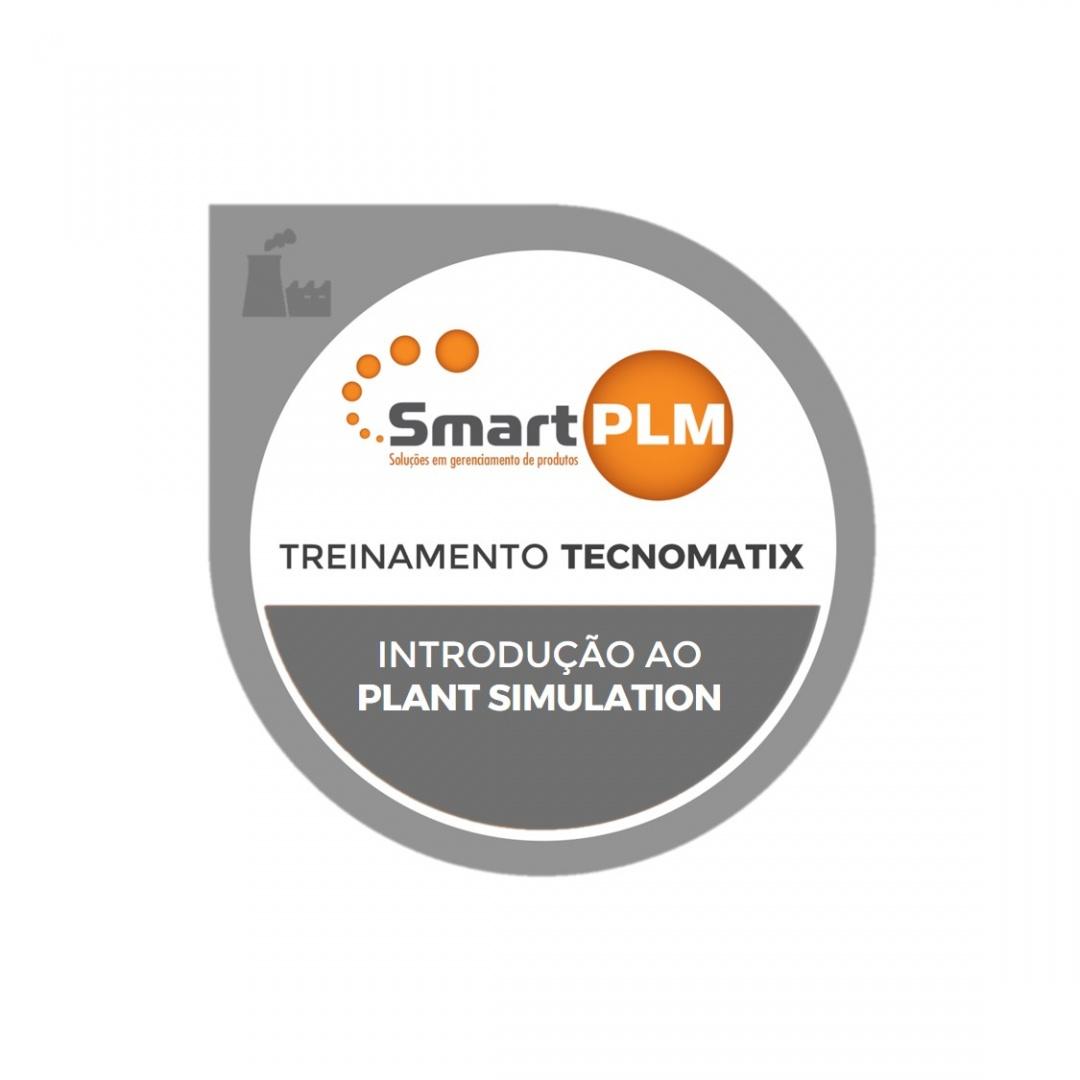 Treinamento Plant Simulation SmartPLM Brasil EAD Curso Certificado PLM Siemens Partner