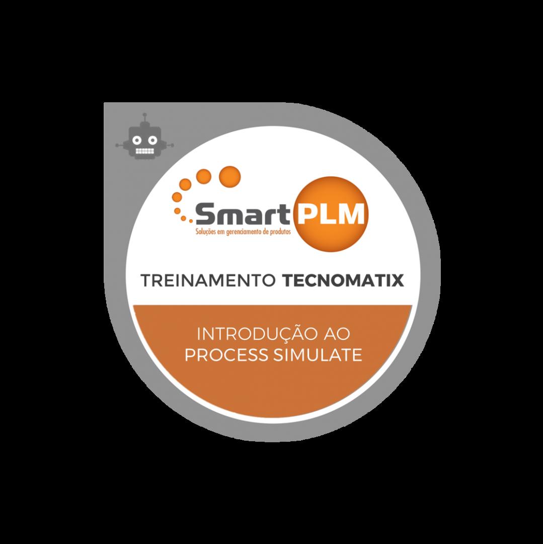 Treinamento Process Simulate SmartPLM EAD Certificado Curso Brasil Siemens PLM Tecnomatix Robotics