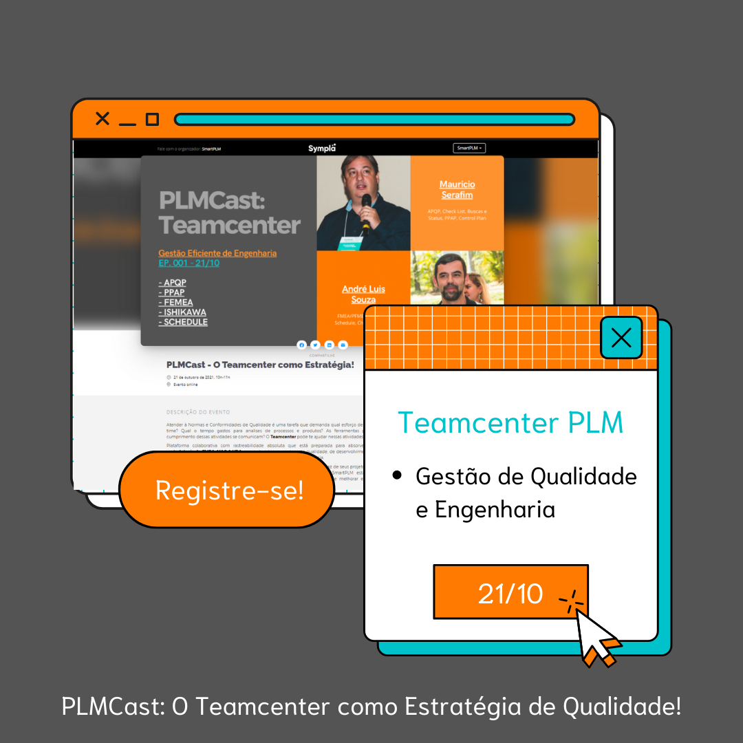 PLMCast - O Teamcenter como Estratégia de Qualidade!