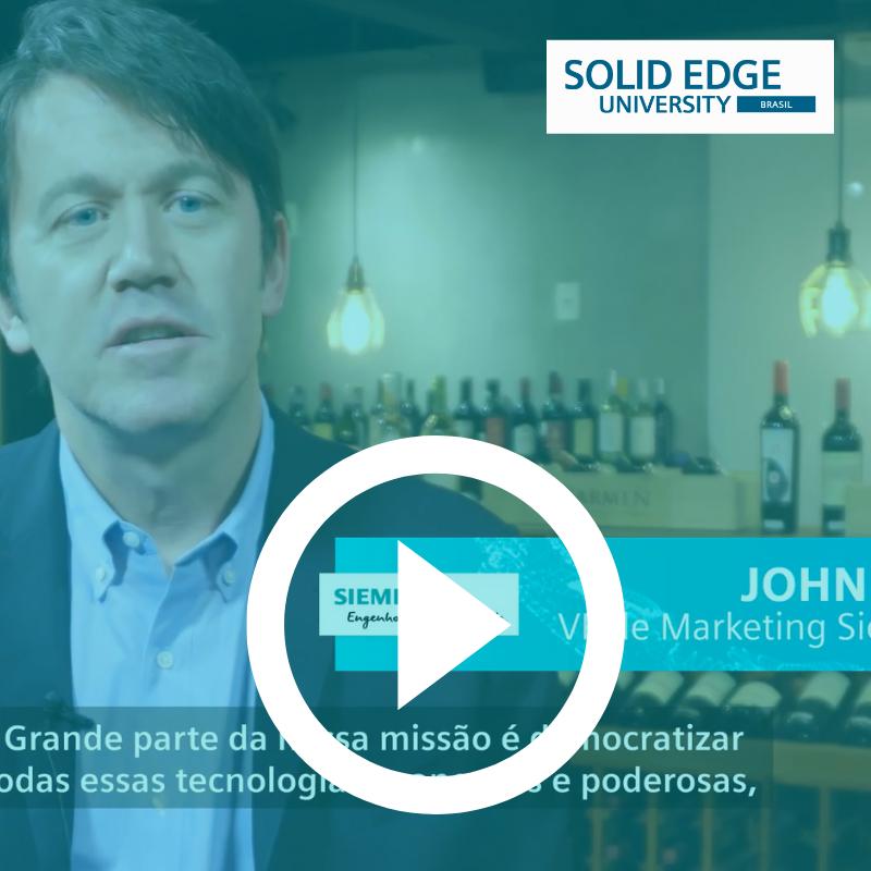 Assista Solid Edge University Brasil 2019 - cobertura São Caetano do Sul-SP vídeo SmartPLM e Siemens