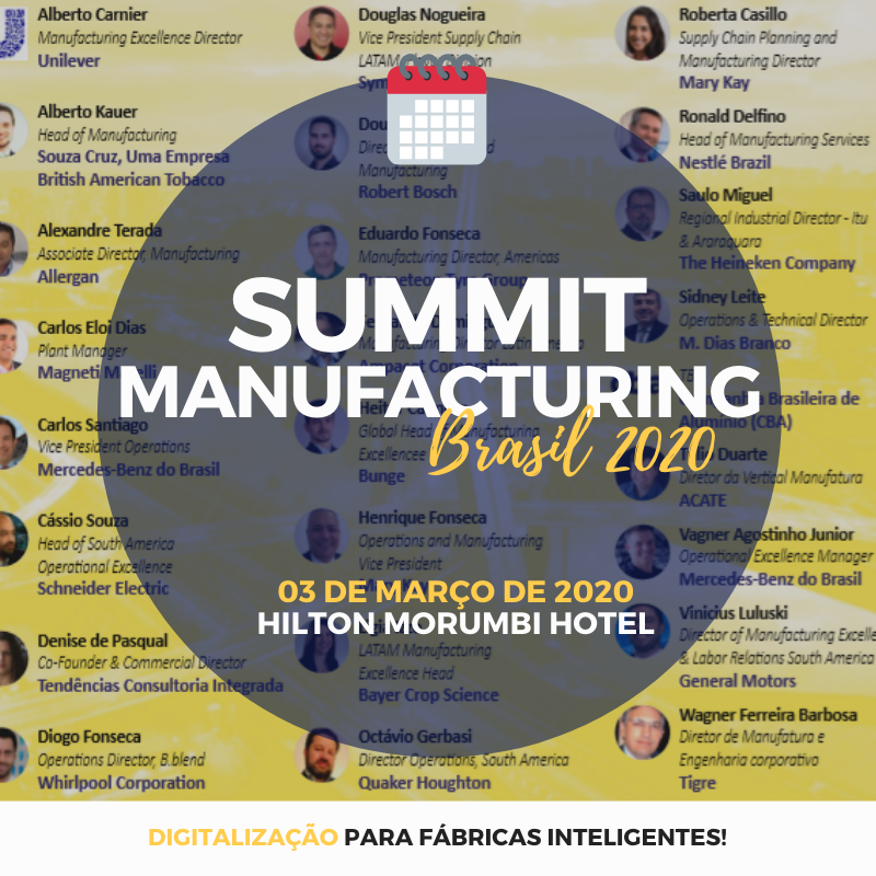 Summit Manufacturing Brazil - Evento Participe!